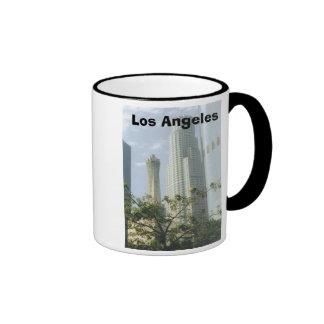 Los Ángeles céntrico Taza De Dos Colores