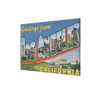 Los Ángeles, escenas 2 de la letra de CaliforniaLa Impresión En Lona