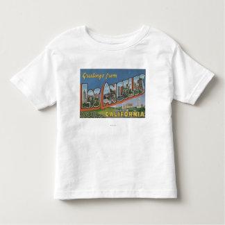 Los Ángeles, escenas de la letra de Camiseta