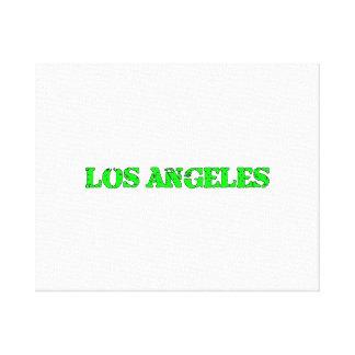 Los Ángeles Impresion De Lienzo