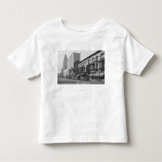 Los Ángeles, la oficina de correos de CA y tubería Camiseta De Bebé