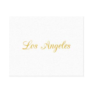 Los Ángeles Lienzo Envuelto Para Galerias