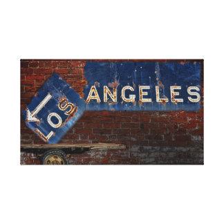 Los Ángeles Lona Estirada Galerias