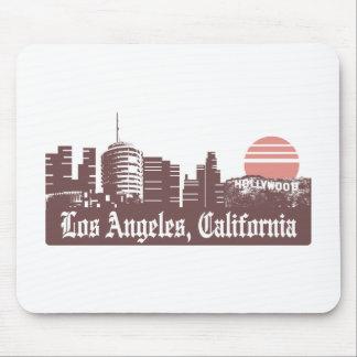 Los Ángeles Linesky Alfombrilla De Ratones