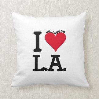 Los Angeles LOVE Hollywood Edition Cojín Decorativo