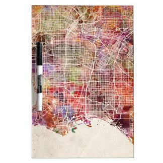 Los Ángeles map Pizarras Blancas