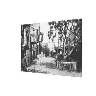 Los Ángeles opinión de CA de la calle de Olvera Lona Estirada Galerías