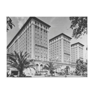 Los Ángeles, opinión de CA del hotel de Biltmore y Impresión En Lona Estirada