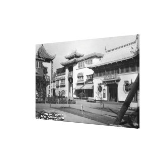 Los Ángeles, opinión nuevo Chinatown de la manera  Lona Estirada Galerías