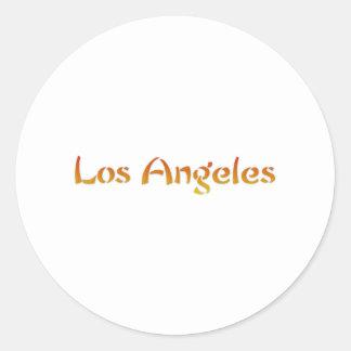 Los Ángeles Pegatina