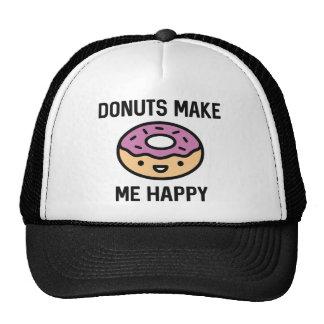 Los anillos de espuma me hacen feliz gorra