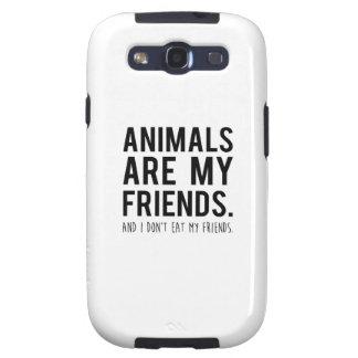 los animales son mis amigos. y yo no como a mis samsung galaxy s3 carcasas