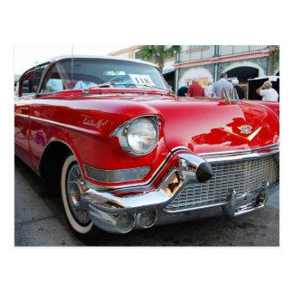 los años 50 Cadillac Postal