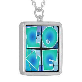 los años 60 diseñan el collar retro del amor (paz