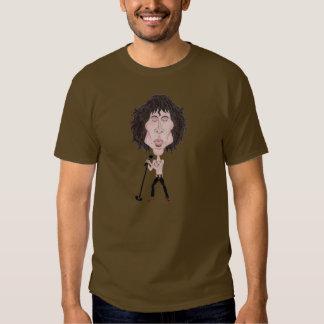 Los años 60 divertidos de la caricatura del dibujo camisetas