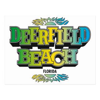 Los años 70 de la playa de Deerfield Postal