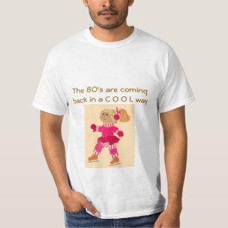 Los años 80 se están volviendo camiseta