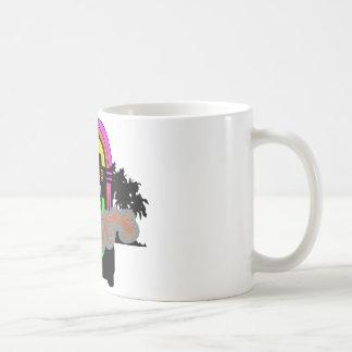 Los años 80 taza básica blanca
