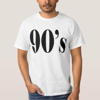 los años 90 camisas
