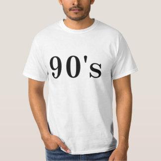 los años 90 camisetas