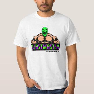 Los años 90 verdes del cráneo de Beastmaster Camisetas