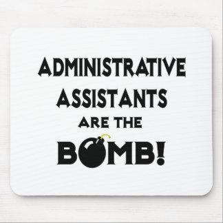 ¡Los ayudantes administrativos son la bomba! Alfombrilla De Ratón