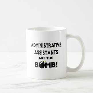 ¡Los ayudantes administrativos son la bomba Taza