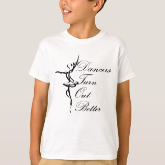 Los bailarines resultan mejor camiseta