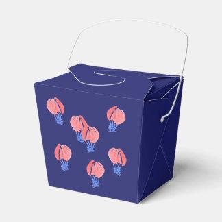 Los balones de aire sacan la caja del favor