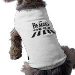 Los beagles camisetas de perro