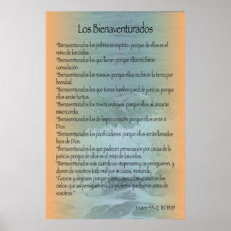 Los Bienaventurados, cártel Posters