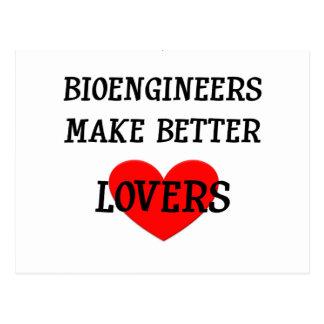 Los Bioengineers hacen a mejores amantes Postal