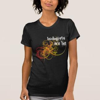 Los biólogos son calientes camisetas
