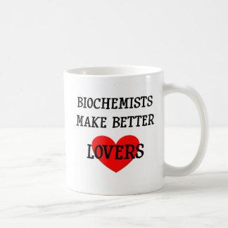 Los bioquímicos hacen a mejores amantes taza de café