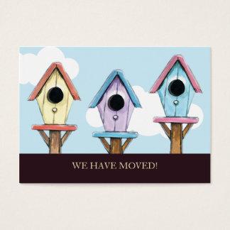 Los Birdhouses el | hemos movido la mini Tarjeta De Visita