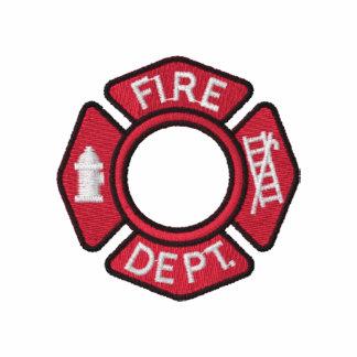 Los bomberos de las mujeres bordaron la camisa