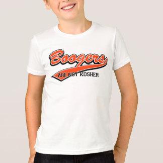 Los Boogers no son kosher Camiseta