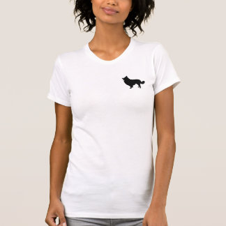 Los borderes collies deben ser amados camiseta