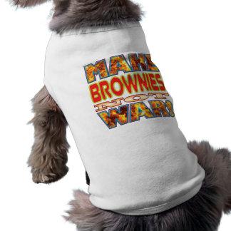 Los brownie hacen X Camiseta Sin Mangas Para Perro