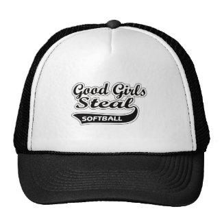 Los buenos chicas roban (el negro) gorro de camionero