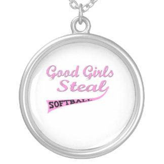 Los buenos chicas roban (urbanos rosados) colgantes personalizados