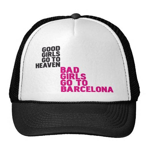 Los buenos chicas van al cielo que los malos chica gorras de camionero