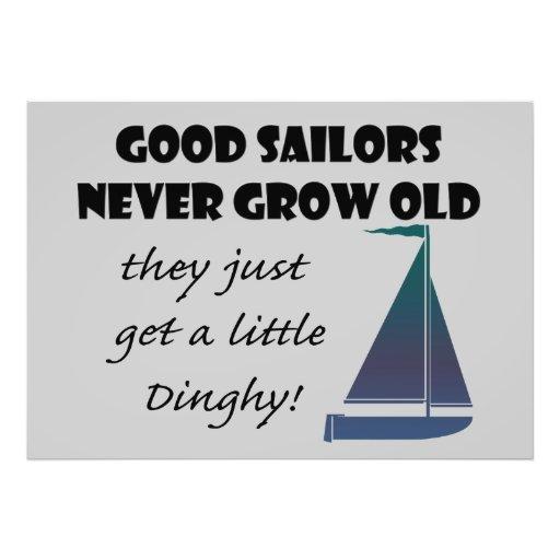 Los buenos marineros nunca crecen viejos, diversió cojinete