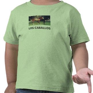 LOS CABALLOS - camisa de los niños