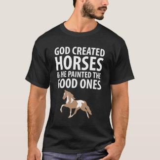 Los caballos creados dios pintaron los buenos camiseta