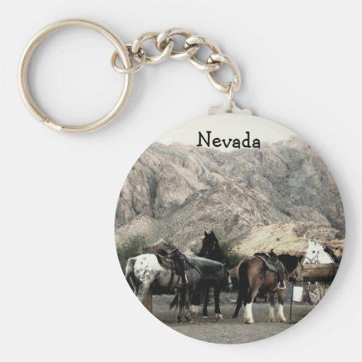 los caballos llavero personalizado