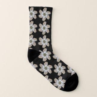 Los calcetines de la flor de la ostra - diseñe un