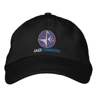 Los campos comunes del jazz bordaron el gorra gorro bordado