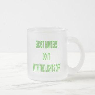 Los cazadores del fantasma lo hacen tazas