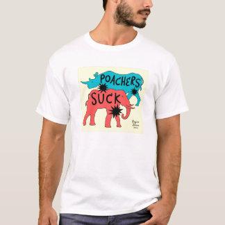 Los cazadores furtivos chupan camiseta